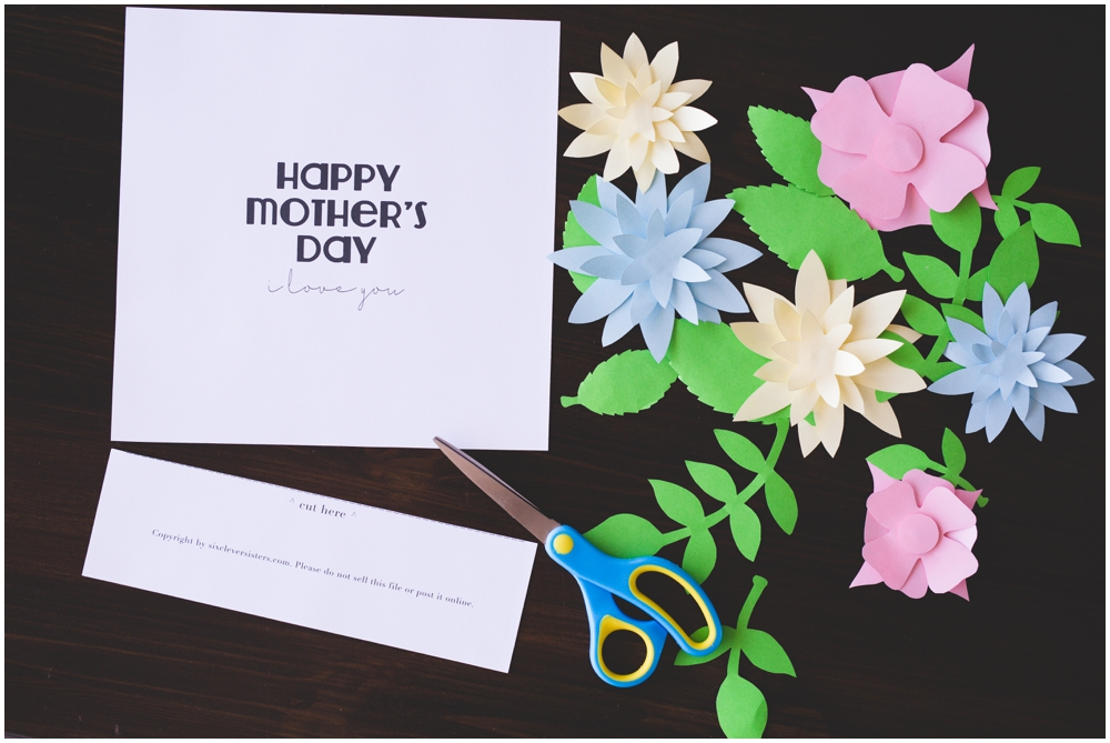 image about Happy Mothers Day Printable titled Moms Working day Crafts for Youngsters (+ Cost-free Printable Templates