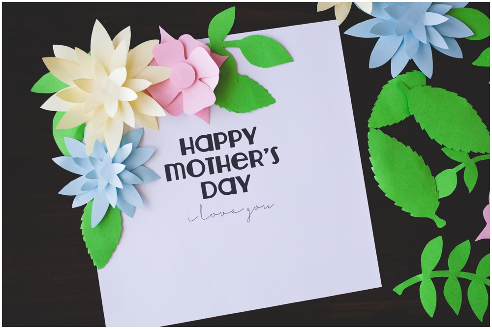 This is a picture of Nifty Free Printable Mothers Day Crafts