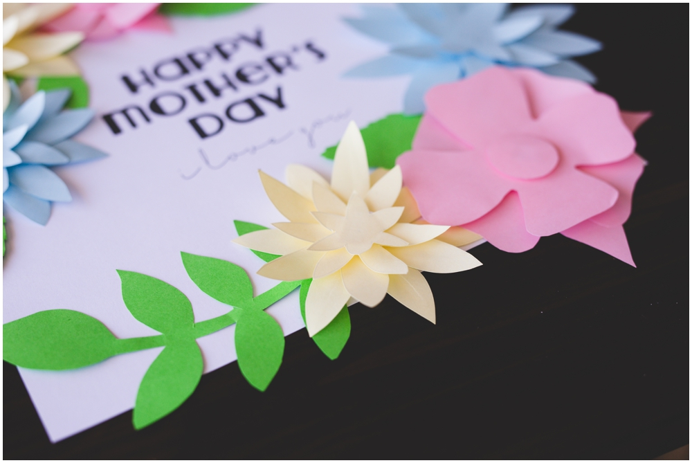 It is a photo of Satisfactory Mother's Day Printable Crafts