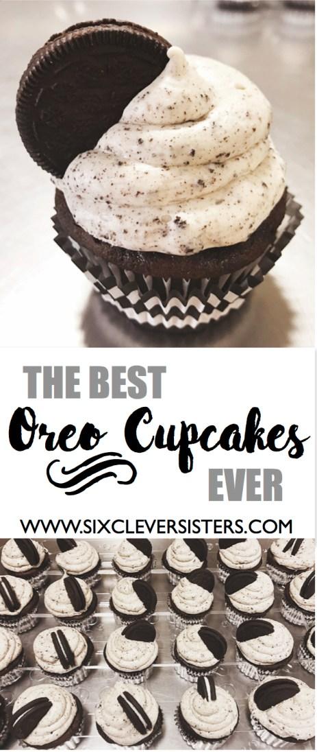 The Best Oreo Cupcakes Ever   Recipe   Oreos   Cake decorating   Cupcakes   Oreo Dessert   Oreo Cake