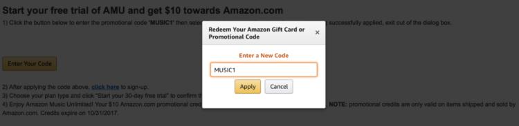 Amazon Music | Free Trial | Amazon Music Unlimited | Free Amazon Credit