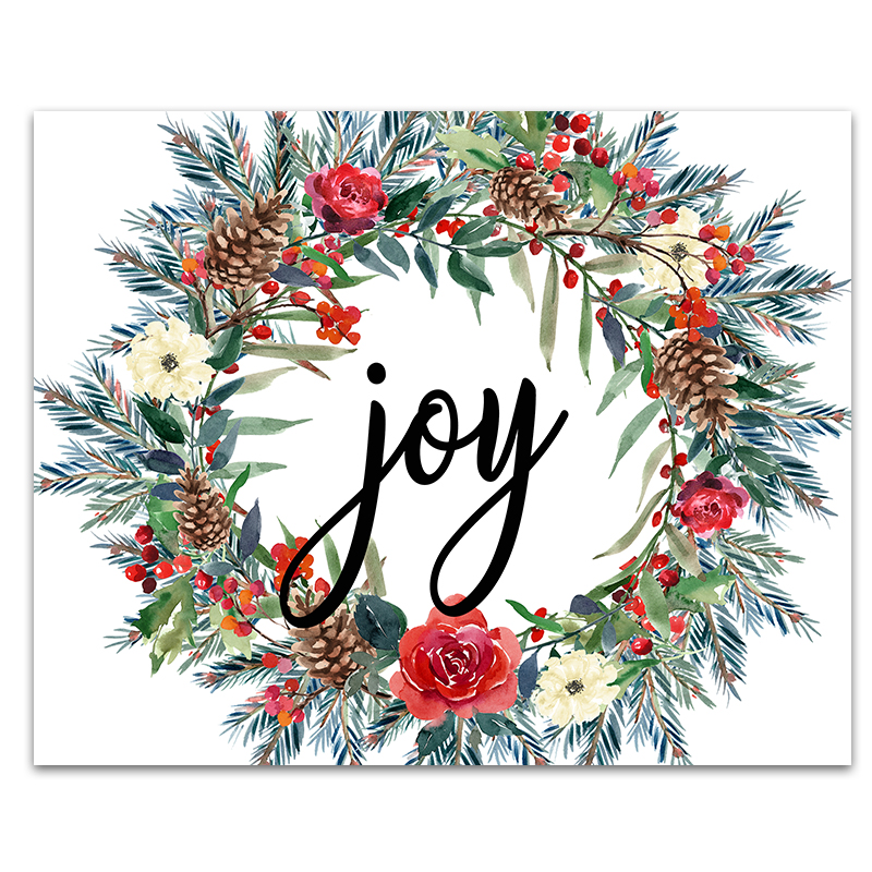 image relating to Printable Christmas Images titled 6 Free of charge Printable Xmas Signs or symptoms - 6 Smart Sisters