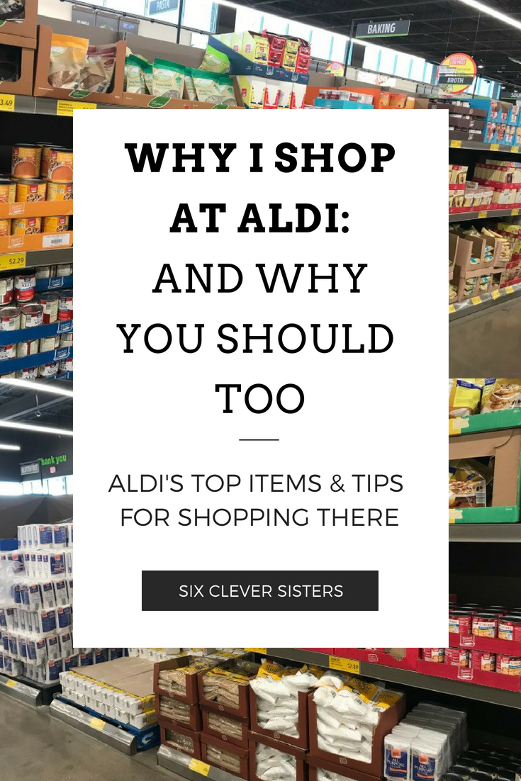 Aldi | Aldi Shopping | Aldi Meal Planner | Shopping at Aldi Grocery Store | Aldi Shopping Tips | Grocery Shopping | Grocery Shopping on a Budget | Aldi Grocery | Grocery Shopping at Aldi | Food Shopping at Aldi | Want to know some of the best items at Aldi? Our readers speak! #sixcleversisters