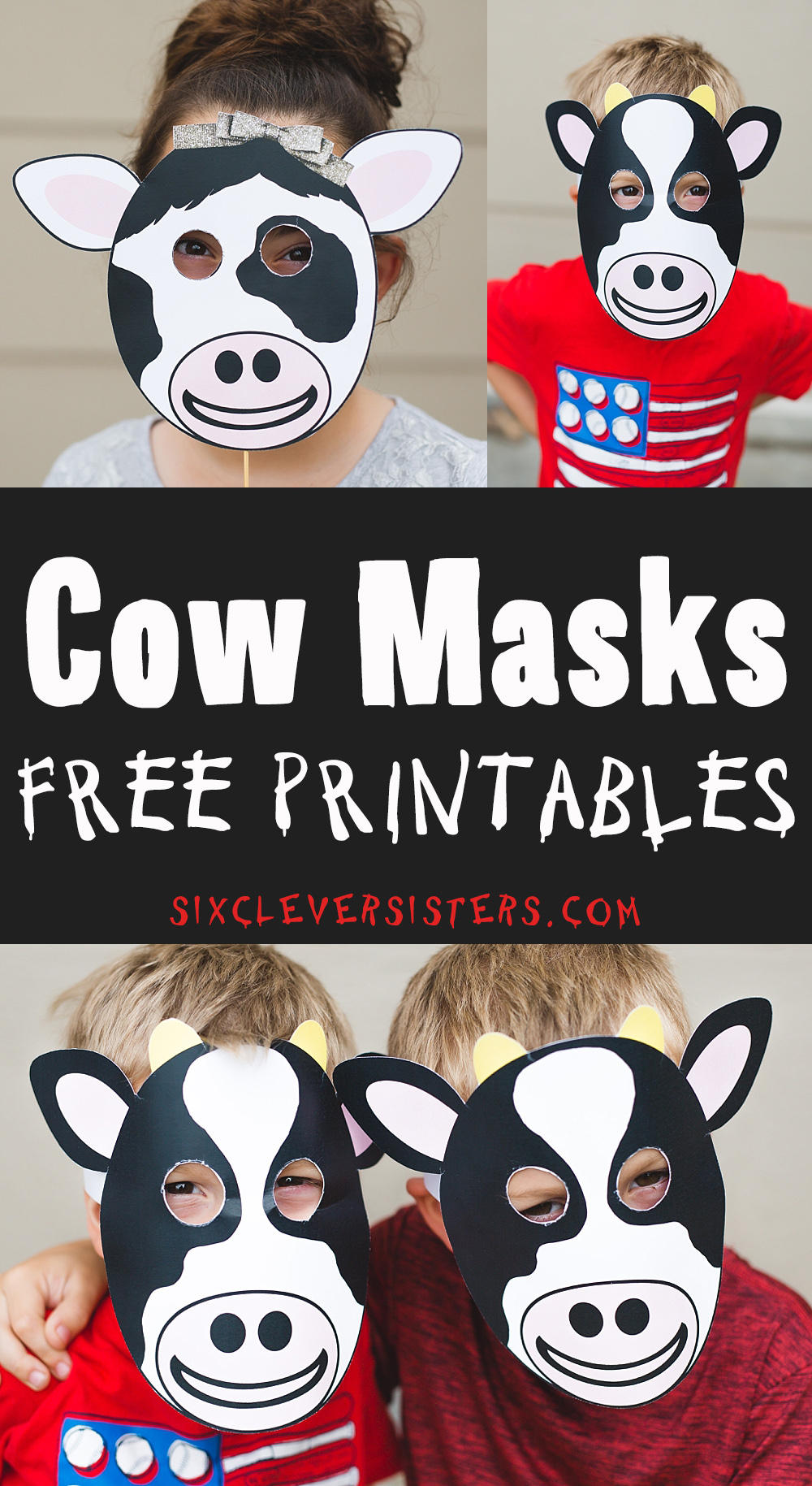 It's just a photo of Free Printable Cow Mask with regard to kindergarten