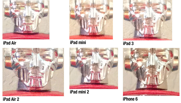 iPad camera comparison