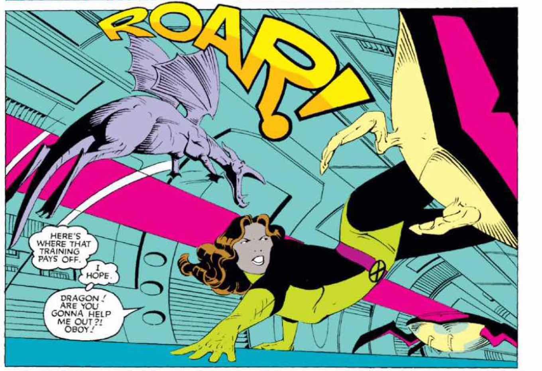 X-Men Comic Panel