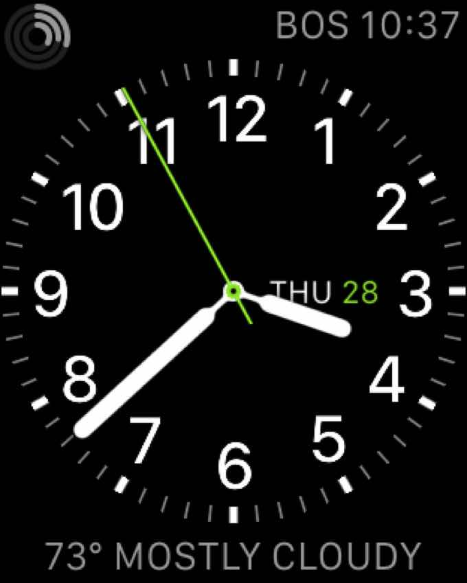 Apple Watch Utility Face