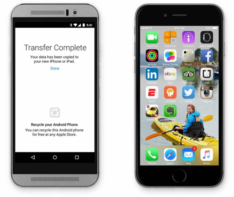 iOS Migration App