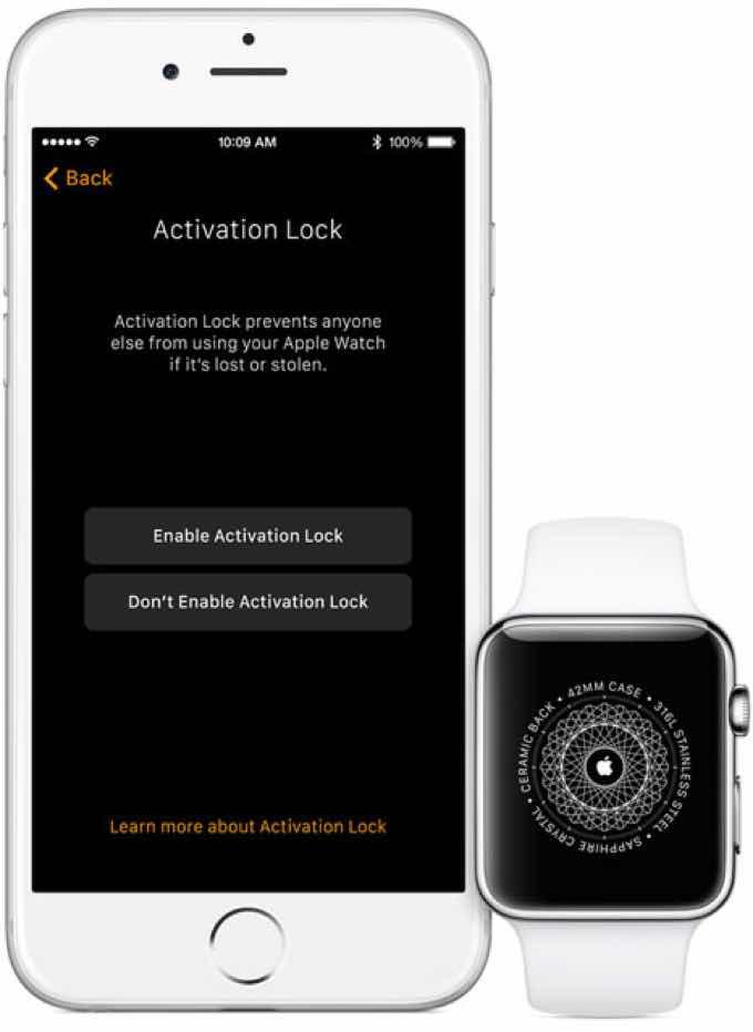Apple Watch Activation Lock