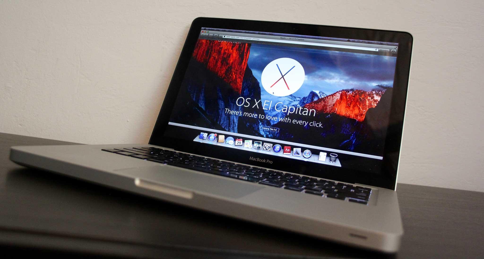 Seven years on, a MacBook Pro prepares for El Capitan – Six Colors