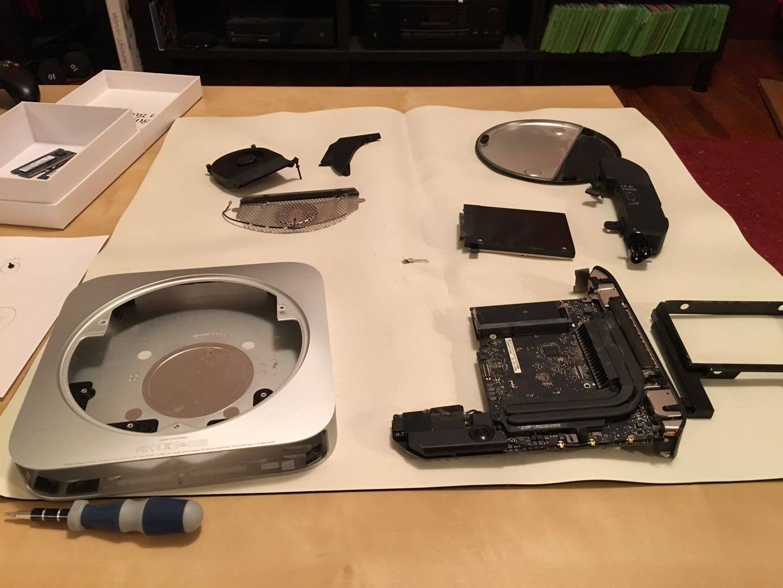 Mac mini surgery