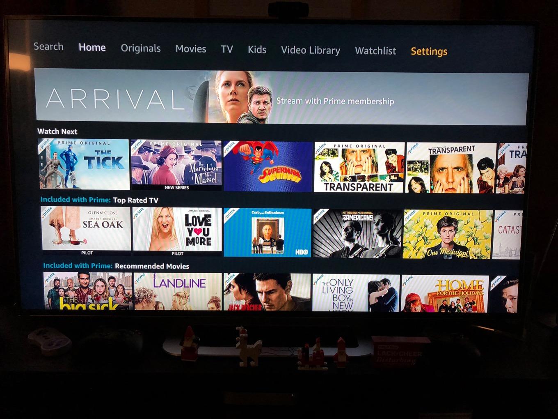 Amazon Prime on Apple TV