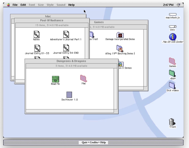 Macintosh JS