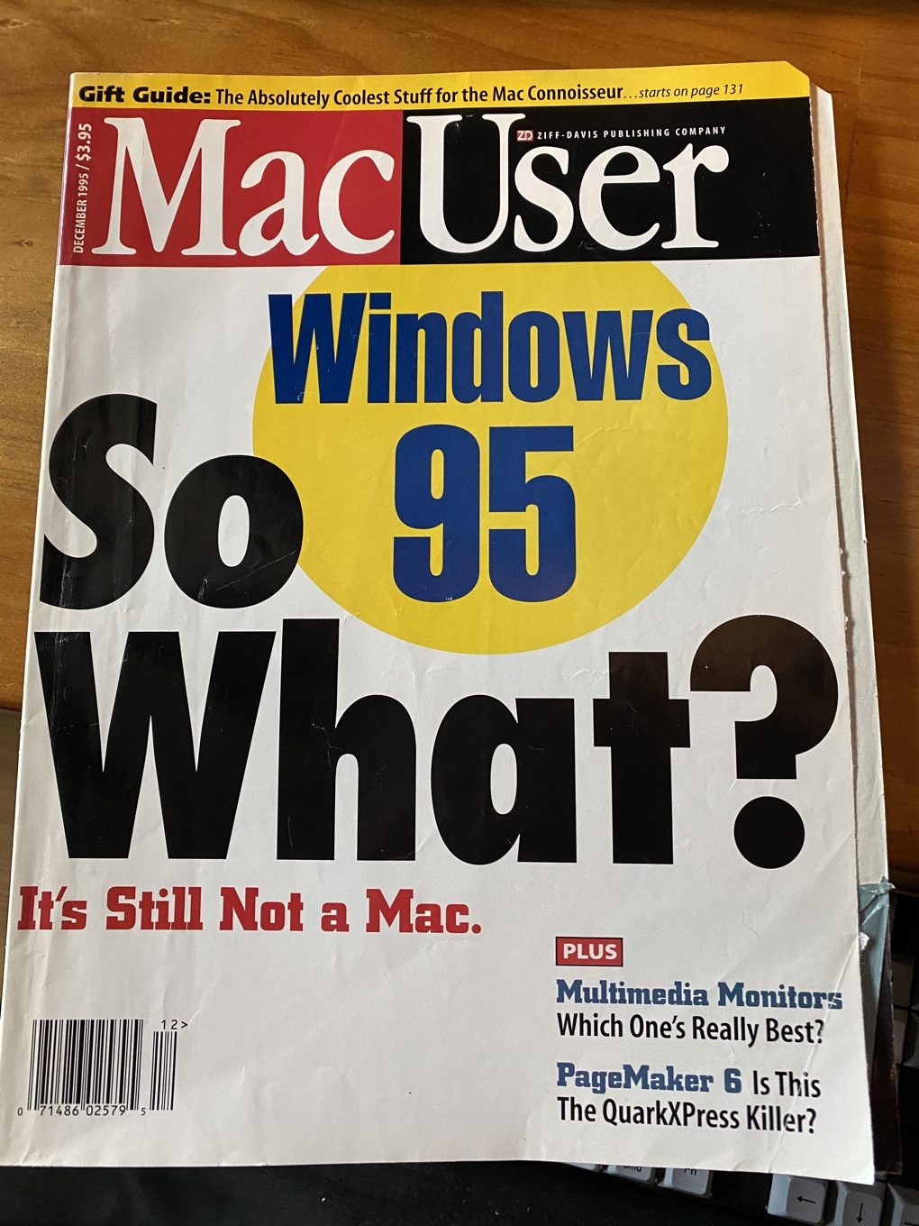 Windows 95 MacUser cover