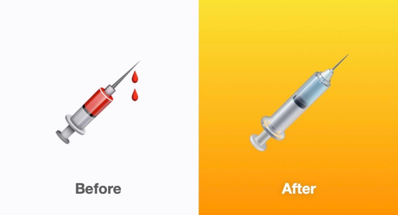 syringe emojis