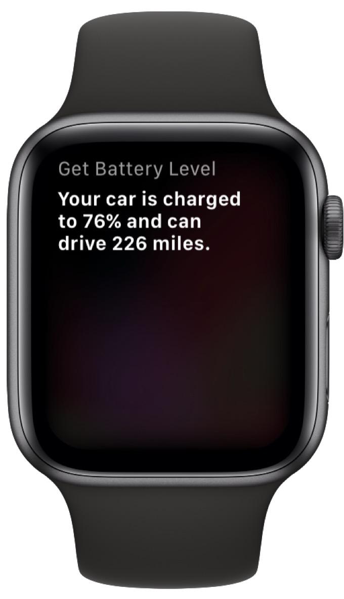 Apple Watch Tesla shortcut