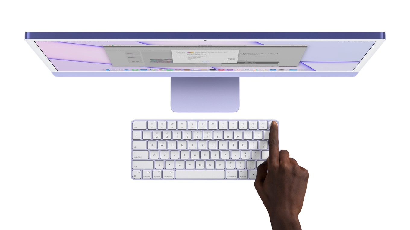 Touch ID keyboard