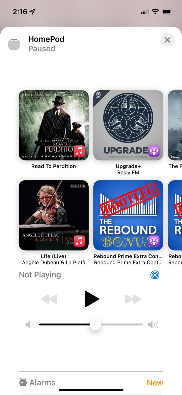 HomePod Music
