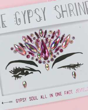 Multi Gypsy Soul Face Jewels - OS / MULTI
