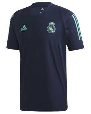2019-2020 Real Madrid Adidas Training Shirt (Night Indigo)
