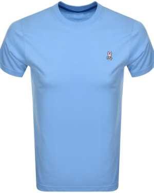 Psycho Bunny Classic Crew Neck T Shirt Blue