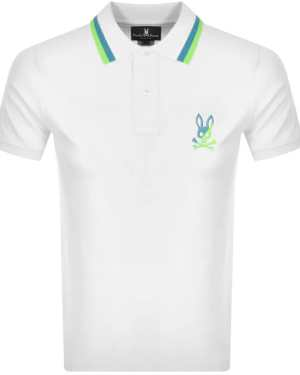 Psycho Bunny Surrey Polo T Shirt White