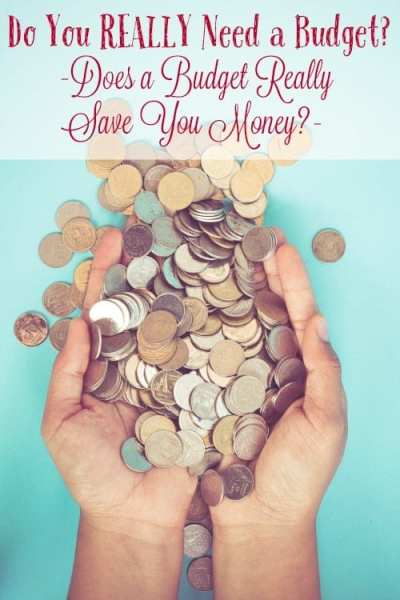 Do you have a family budget? Do you think you don't need one? You do! Let me answer the question you've been asking! Do you REALLY need a budget?