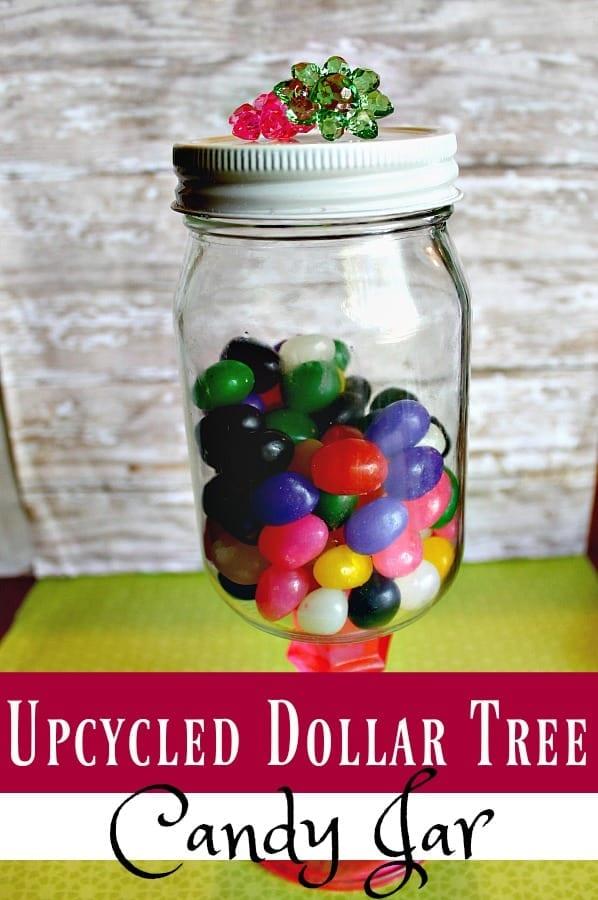 Dollar Tree Crafts Diy Upcycled Candy Jar