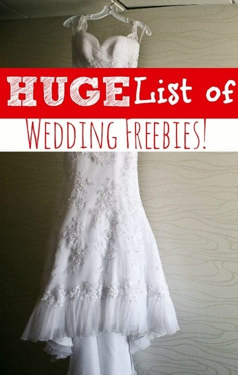 Free Wedding Samples - Getting married on a budget? Be sure to check out this list of free samples for weddings!! My*HUGE* List of Wedding Freebies will help you big save money on your perfect day! What better way to plan a budget wedding than with freebies?