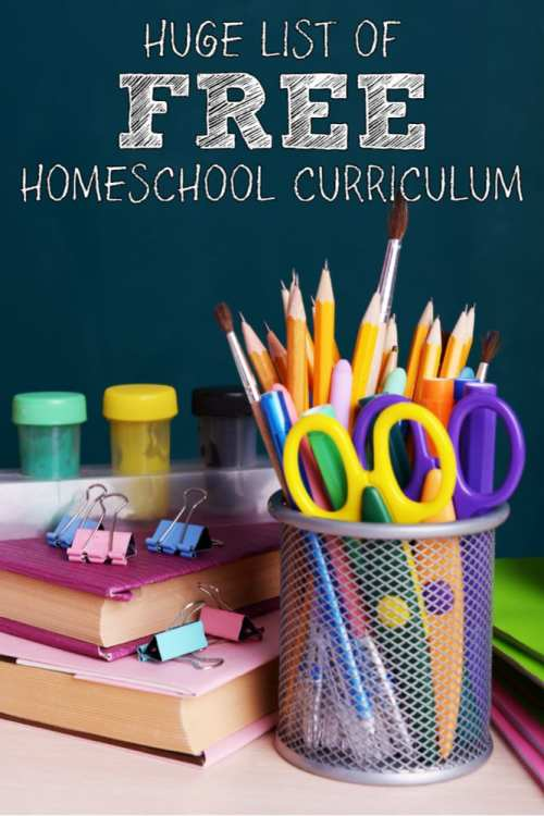 Homeshooling children can be an expensive and time consuming process. This list of places to find free homeschool curriculum can help! Save time and money since we've done the legwork for you!