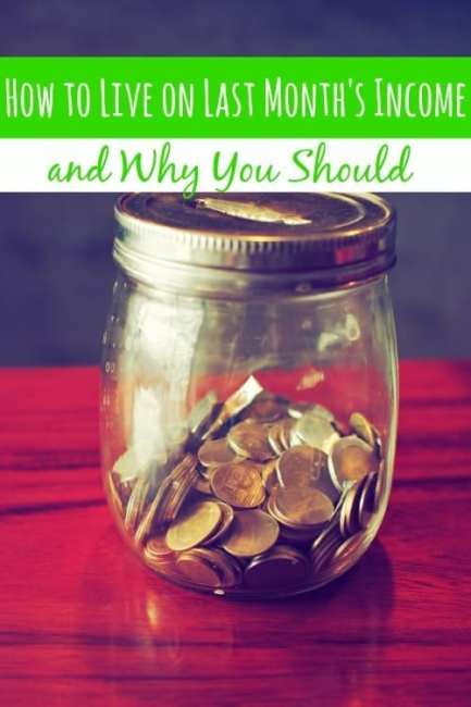 Are you living off of last month's income? You should be! I'm going to show you how to and why you should want to!