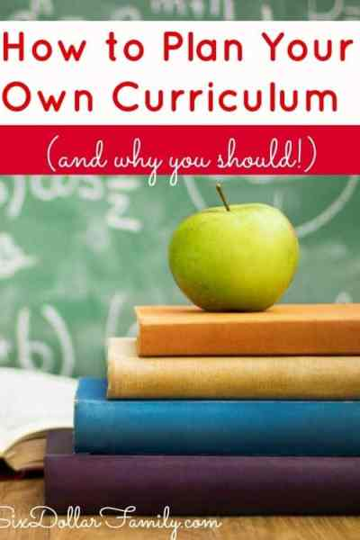 Learning how to plan your own homeschool curriculum might seem scary, but its really not! Learn how to plan it and why you should go ahead and take that leap!