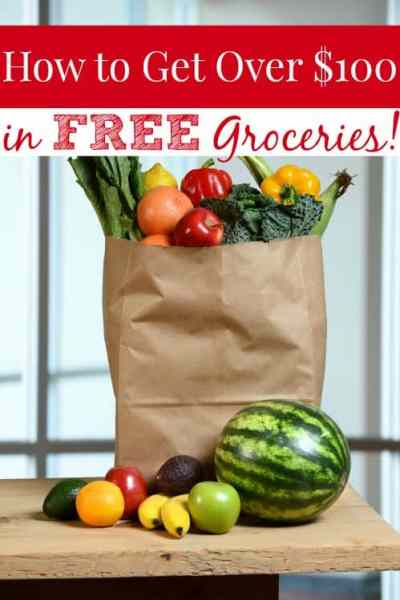 Groceries are SO expensive! Get over $100 in FREE FOOD for your family to help keep your grocery budget low!