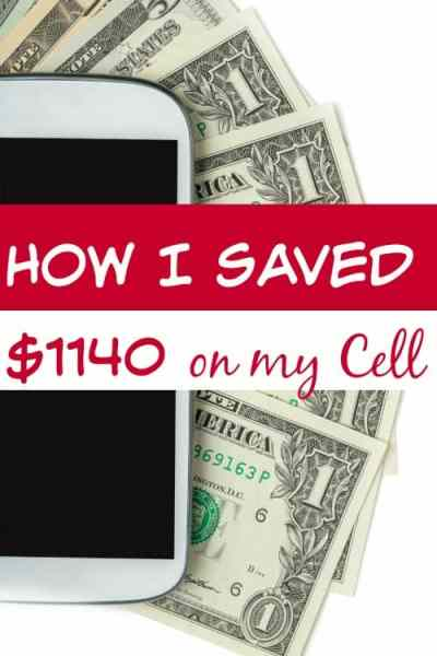 """Ever been tired of spending so much for your phone? I was! Spending over $1300 per year just wasn't high on my """"want to do"""" list! Now? I've saved $1140 each year and I'm about to show you how!"""