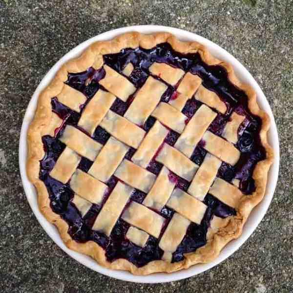 4 Ingredient Blueberry Pie Recipe