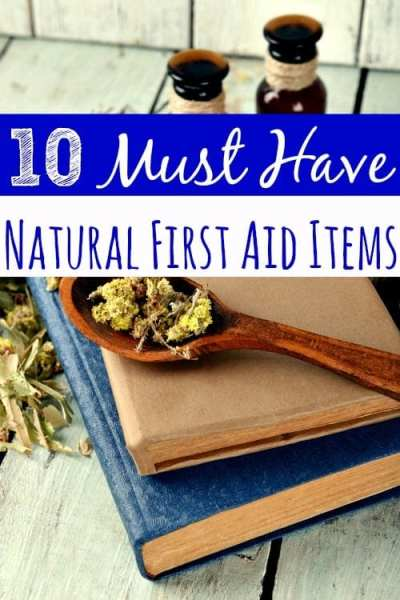 Looking to build a natural first aid kit? These 10 must have Natural First Aid items are the place to start! No natural first aid kit is complete without them!