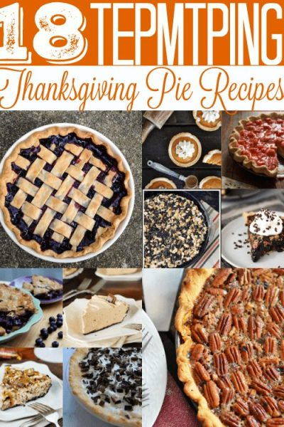 These 18 tempting Thanksgiving pie recipes are so good! They're perfect for your Thanksgiving dessert! Take your pick because you can't go wrong with any of them!
