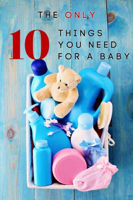 It can be so much fun shopping for a new baby, but it can also be expensive! Stores want you to think you need thousands in new items, but they're wrong! Whether you're newly pregnant (congrats!), know someone who is or just gave birth, these are the only 10 things you need for a baby!