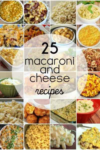 No more blue box! These 25 macaroni and cheese recipes are so tasty that you'll never pick up a blue box again!