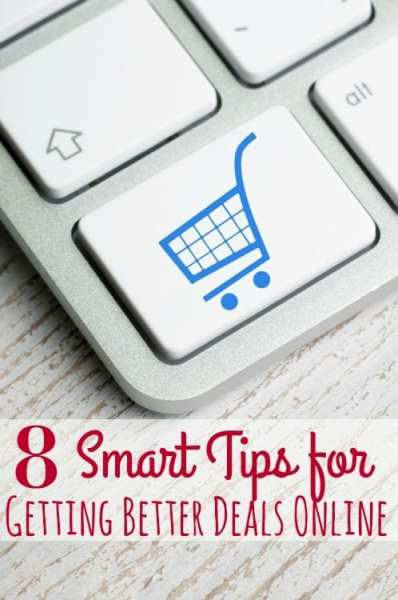 Shopping online? STOP! Don't buy a single thing until you check out this post! These 8 smart tips for getting better deals online will help you save BIG!