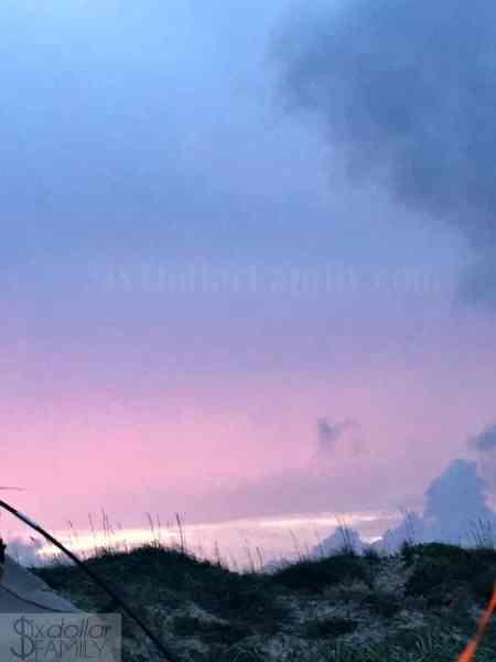 beach-camping-sunset