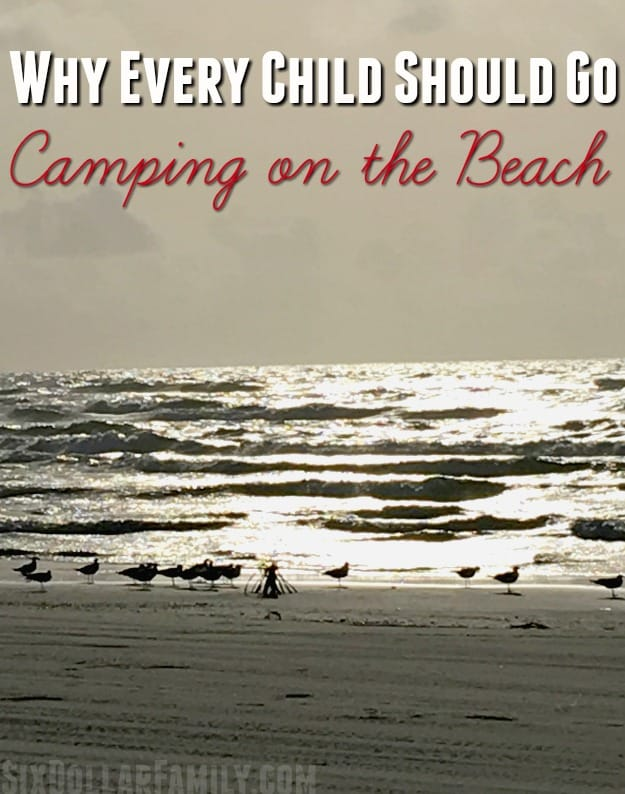Have you ever been camping on the beach? You NEED to plan a beach camping trip and soon! Why? Your kids!