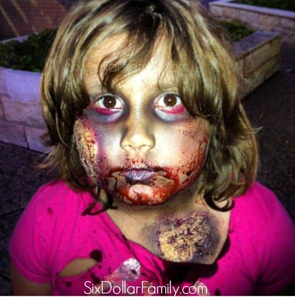 DIY Halloween Blood - Making DIY Halloween Costumes this year? This homemade Halloween blood is non-toxic, only 3 ingredients, takes less than 5 minutes to make and looks so real! You're sure to scare up the neighborhood when you use this homemade theater blood with your scary Halloween costume!