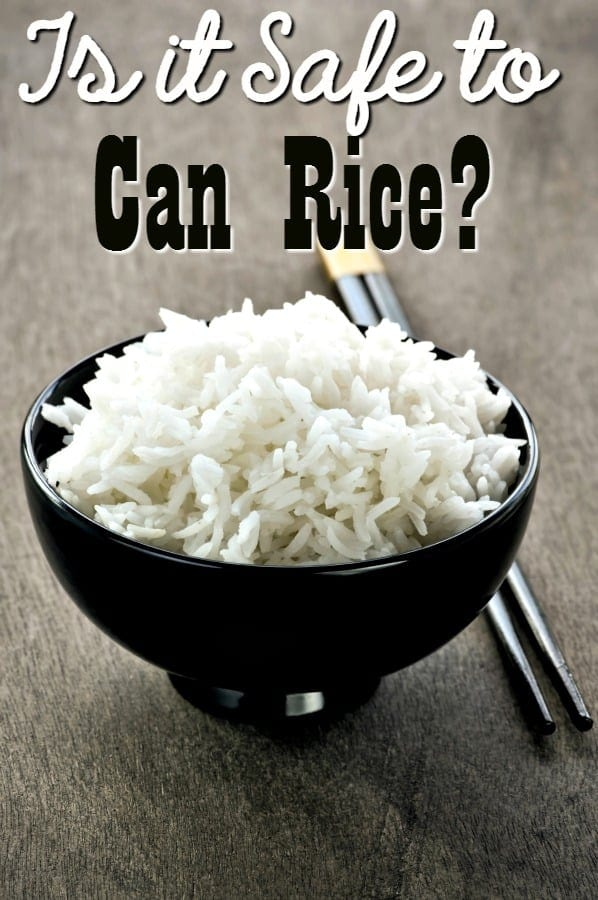 Canning rules are there for a reason! See what happened when we tested if it is safe to can rice! What do you think the answer was? If you don't know, you can't practice safe home canning!