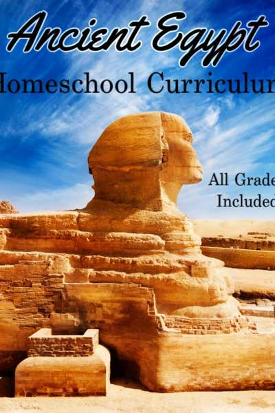 Whether you're a new homeschool family or have been homeschooling for years, these Ancient Egypt homeschool unit studies are just what you need! Packed full of homeschool curriculum about Ancient Egypt, it has options for all ages and grades!