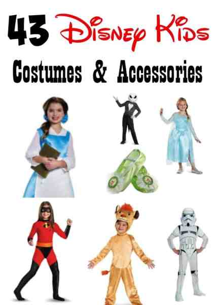 Best Disney Kids Halloween Costumes - Have a little Disney star for Halloween? Make sure to check out these 43 Best Disney Kids Halloween Costumes and accessories to make sure they look their best!