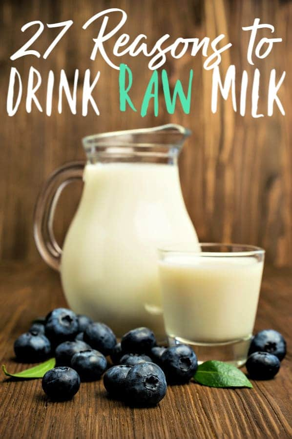 The Benefits of Drinking Raw Milk - Thinking about making the switch to raw milk? It's a personal decision for each family, but make sure you know all the benefits of raw milk! There are so many it was a no-brainer for us!