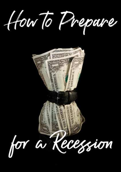Are you worried that a recession is coming? It only takes a few simple steps to learn how to prepare for a recession! Click to learn more!