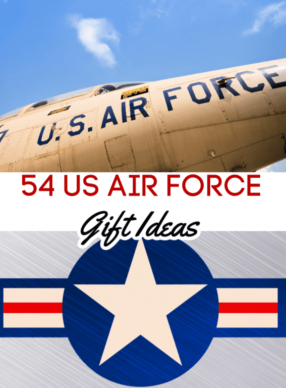 Shopping for a military gift ideas should be a personal and thoughtful experience. If you're looking for US Air Force gift ideas, these 46 gifts for Airmen are sure to please. Most of these US Military gifts even work as Navy Gift Ideas, Army Gift Ideas and Marines Gift Ideas too!