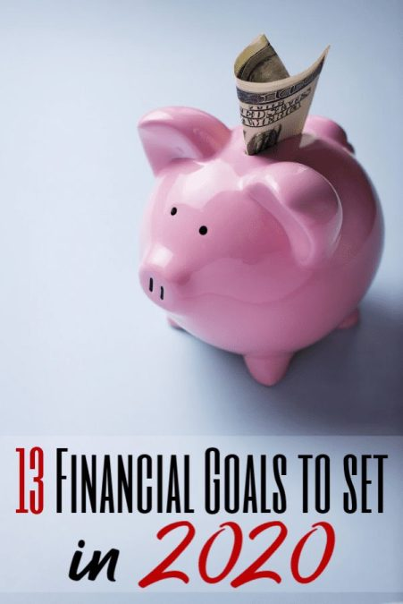 Start the new year off right by planning financial goals for yourself and your family. These 13 financial goals to plan are perfect for any family budget!